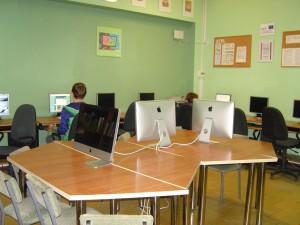 Gimnazjalne Centrum Informacji-stanowiska komputerowe dla uczniów